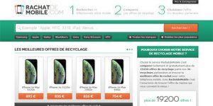 Un geste écologique sur le site rachat de mobile