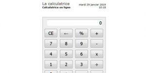 Prenez cette calculatrice en ligne pour vous aider