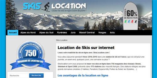 Louez vos skis moins cher pour vos vacances d'hiver